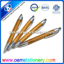 2014 recycle pen factory china/china personalized pen /bamboo ballpoint pen