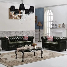 chesterfield sofa genuine leather for furniture living room
