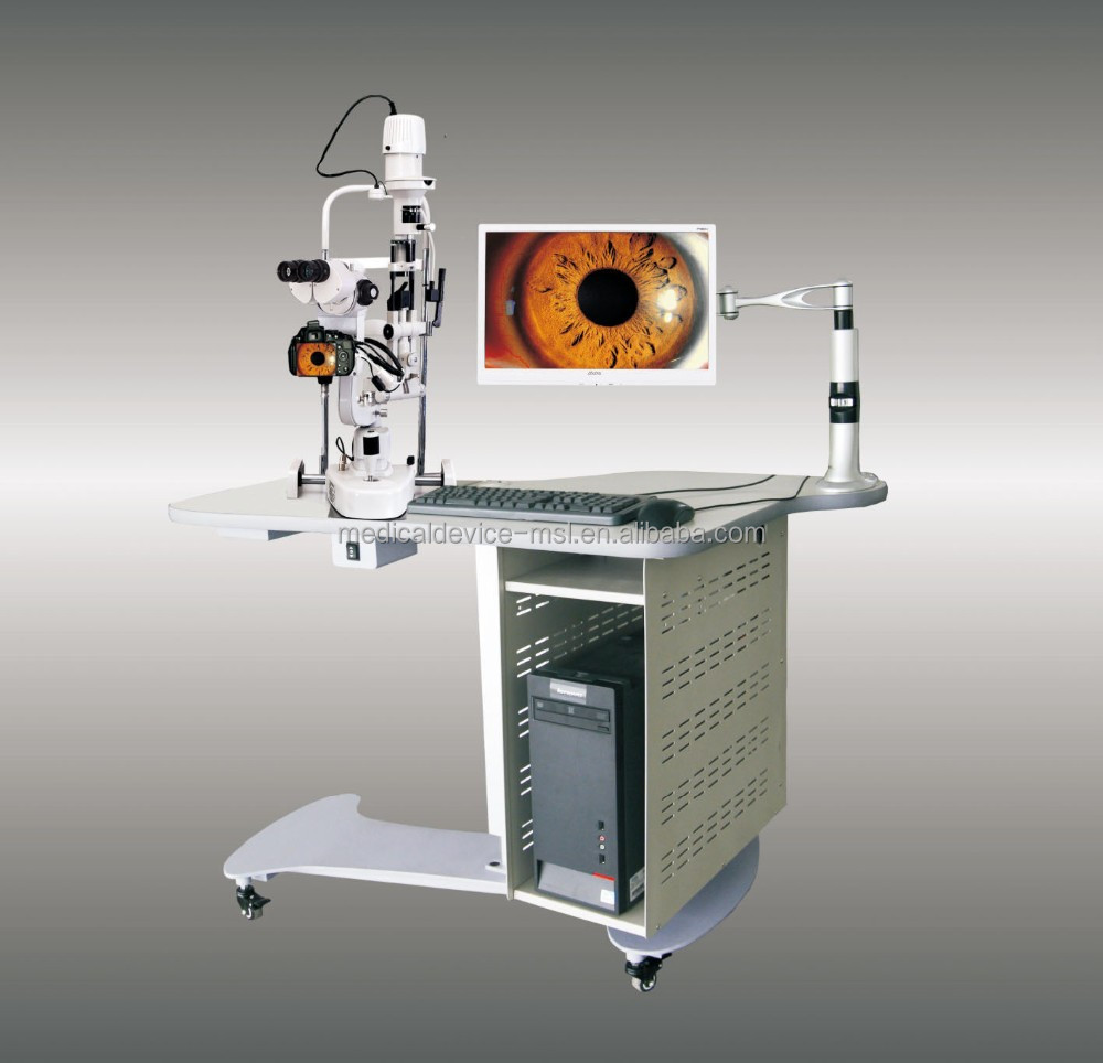 Digital Slit Lamp Microscope/Slip lamp with Digital Slit Lamp Microscope, ophthalmic equipment