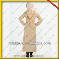 2014 latest Hooded moroccan baju kaftan