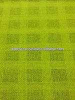 Dobby fabric (Square pattern)