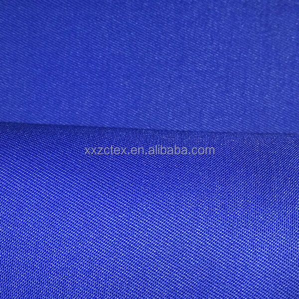 polyester cotton blend dye twill fabric for garment