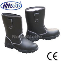 NMSAFETY rubber ranger safety boots