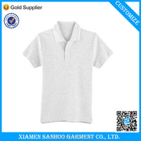 China Manufacturer Casual Unisex blank kids polo shirts wholesale Custom Tshirt High Quality Printed Logo