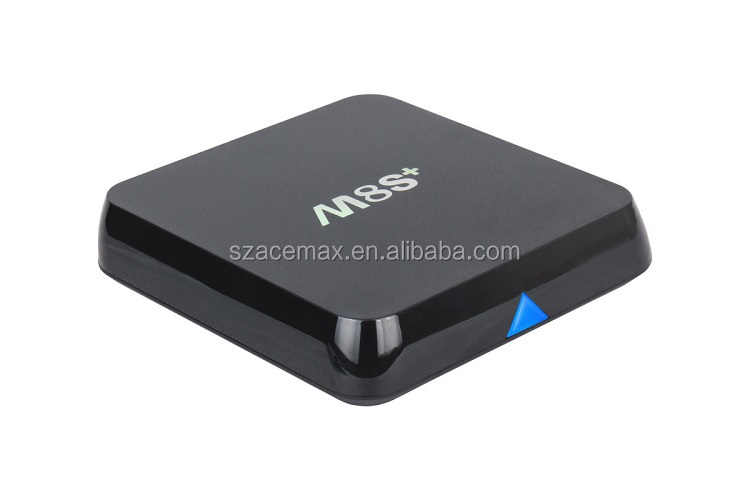 Acemax NEW Amlogic S812 Quad Core Google Android 5.1 Android Tv Box m8s plus M8S+ 2GB/8GB KODI Bluetooth Dual-band Wifi
