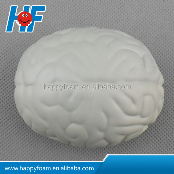brain shaped stress ball high quality from Happyfoam reliable supplier