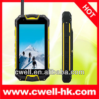 4.5 Inch Walkie Talkie Snopow M8 Android 4.2 MTK6589 Quad Core 3000Mah Battery IP68 Rugged Smartphone