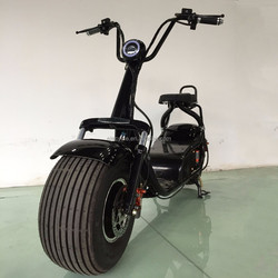 New design hydraulic disc brake+EABS Electric scooter from China