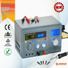 110V-240V 40W 160''C-480''C the latest,high quality,professional digital soldering iron station with ceramic heater of Ningbo ZD