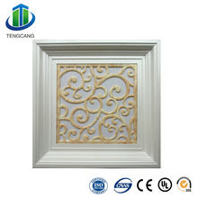 cheap plastic suspended panel ceiling tiles with led lighting