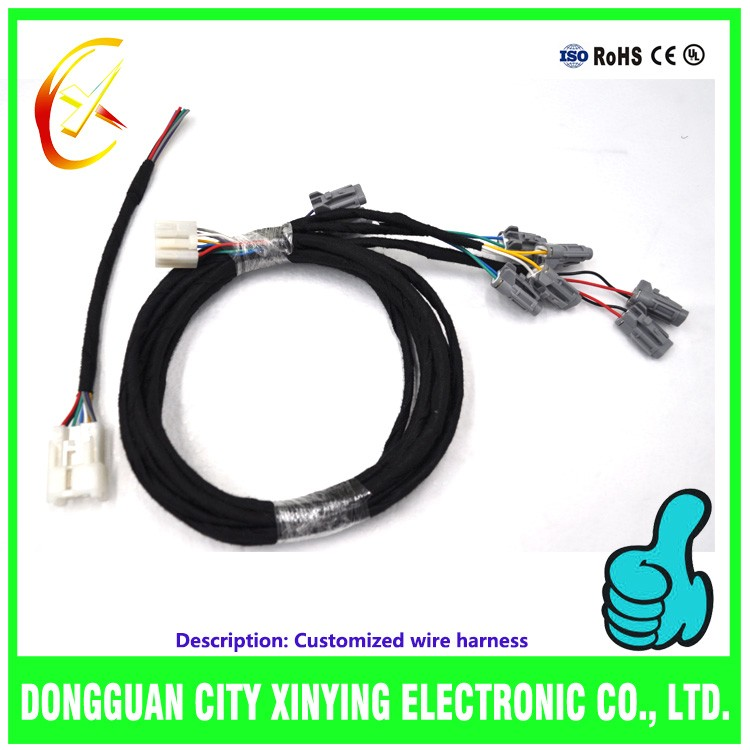 Custom kinds of multifunctional mercedes benz wire harness