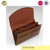 Genuine Travel Leather Money Clip Wallets