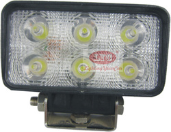 18W LED work light ,LED driving light for Auto SUV ATV excavator JK-2222