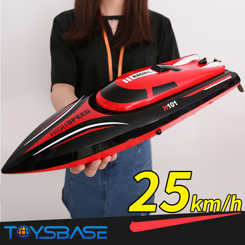 RC Boat Toy Skytech H100 2.4GHz 4 Channel LCD Screen Controller High Speed Racing Radio Remote Control Boat