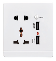 Best Price High Quality Output 2.1A Universal Socket Outlet/Electric Socket/UK AC Power Socket