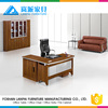 latest luxury wooden office furniture table design modern office table photos counter CEO desk