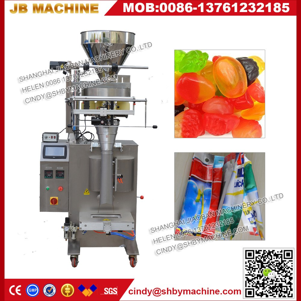 JB-300K Ruian supplier lentil packing machine for nuts dry fruits hot sale
