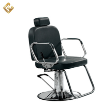 Old style vintage hair salon styling barber chair