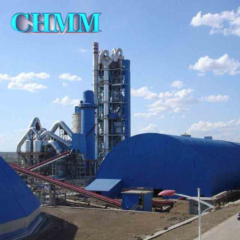 Complete Set Of Rotary Kiln Cyclone Preheater Grate Cooler Machine Used For Dry Process Cement Production Line
