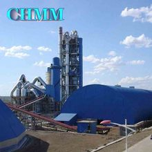 Complete Set Of Rotary Kiln Cyclone Preheater Grate Cooler Machine Use Dry Process Cement Production Line