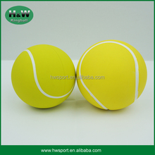 Custom double size hollow tennis rubber high bouncy ball