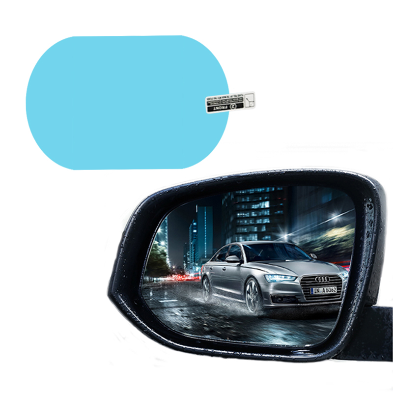 Custom Made! Auto Anti Fog <strong>Film</strong> Test Rainproof Rearview Mirror Clear PET Protective <strong>Film</strong> For Car Sticker