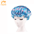 2018 New Style Customized Women Shower Cap