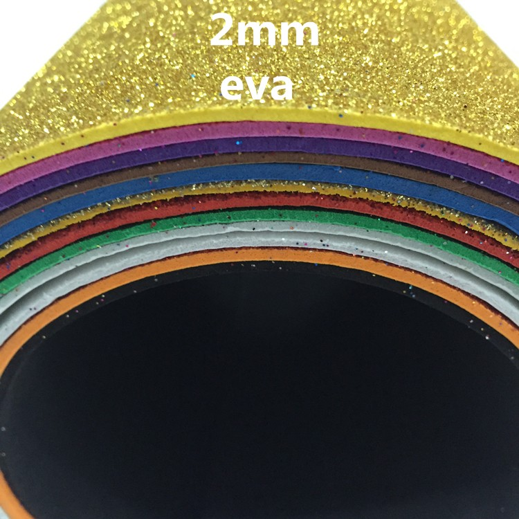 EVA FOAM SHEET goma eva sheet foamy foamie glitter