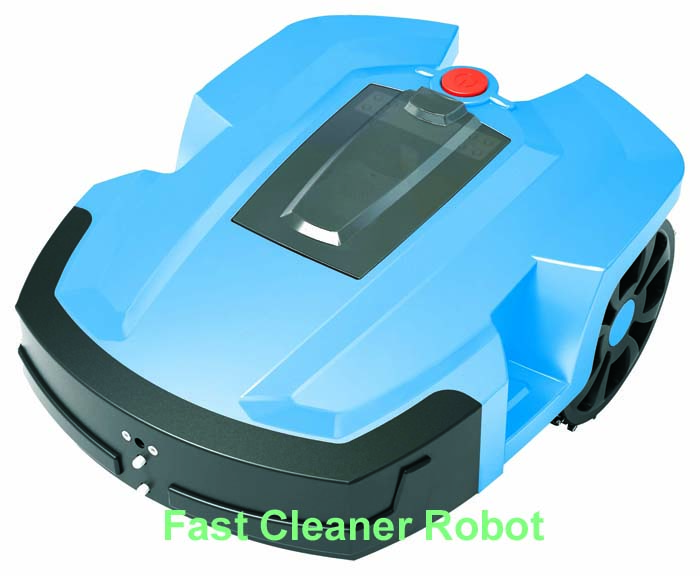 Two Independent Lithium Batteries Auto Recharged Electric Lawn Mower