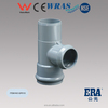ERA pvc rubber ring fittings PVC fittings with gasket reducing tee MF