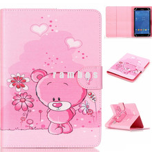 Shockproof 8 inch Tablet Case Custom Printing Dream Catcher Pattern Universal Leather Cases for Samsung Galaxy