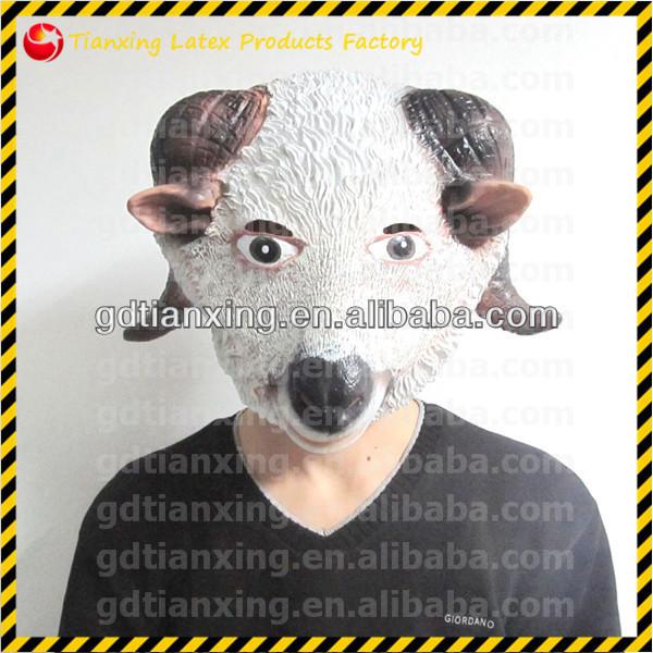 2014 New Halloween Goat Mask Animal Mask