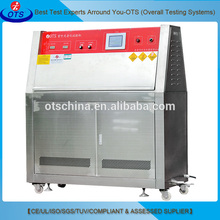UV light simulation test chamber/ UV A B lamp weatherable tester