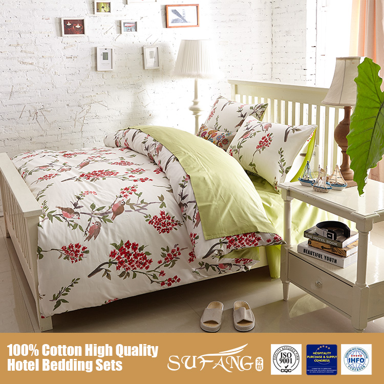Wholesale 300tc 60s High Quality Bedding Sets Home Textile