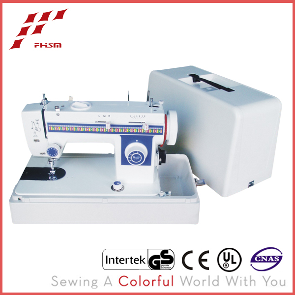 JH307 professional treadle multi-function sewing machine with platic case