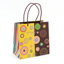 Concentric Circles Medium Gift Bag paper packing bag