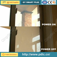 2016 hot sale Glass Films Type and Self-Adhesive Feature PDLC film buying from manufacturer