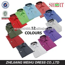 Latest OEM SERVICE spread collar french cuff wholesale clothing men's dress shirt