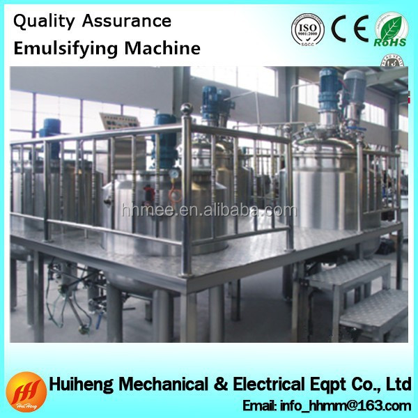 304 or316 material emulsifier mixer automatic detergent mixer machine