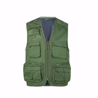 2016 wholesale garment china spring fishing vest