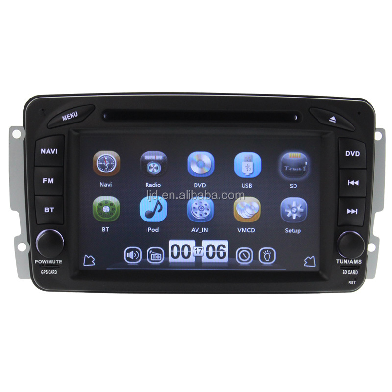 car dvd radio mercedes w203 with canbus