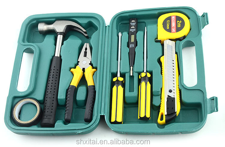 Useful 9 in one car emergency body repair tool set with best price