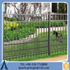 Short Wrought Iron Fence /Useful Steel Fence For Garden/2015 Salable Picket Fence Wholesale