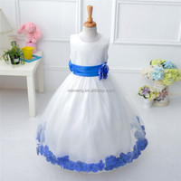 Long Skirt Sleevess 10 Years Old Huge Bowknot New Year Girl Summer Dress
