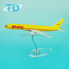 Resin gift craft 1:150 length 31cm b757 dhl plane model