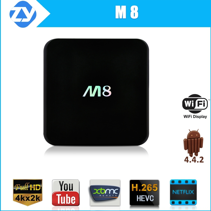 Factory stable quality xbmc Gotham fully loaded quad core google smart tv box acemax iptv m8 with wifi bluetooth