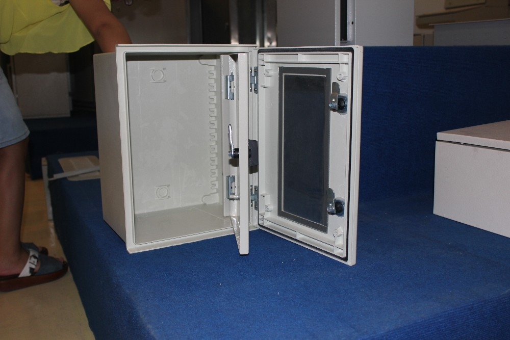 High Quality Fire Resistant Polyester Fiberglass Enclosure