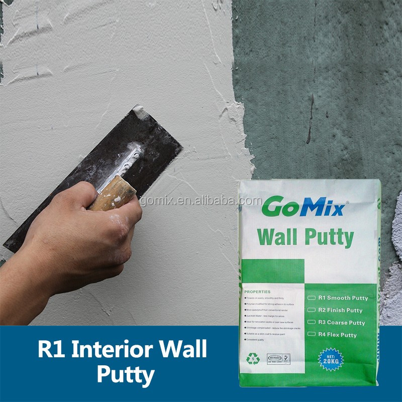 Cement Based Plaster Before Applying Paint R1 Wall Putty