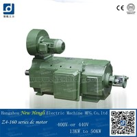 Competitive hot product cheap 960rpm carbon brush 15kw dc motor