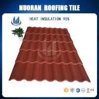Cheap Roofing Material Chinese Japanese Barrel Iron Colorful Stone Coated Metal Roofing Tiles